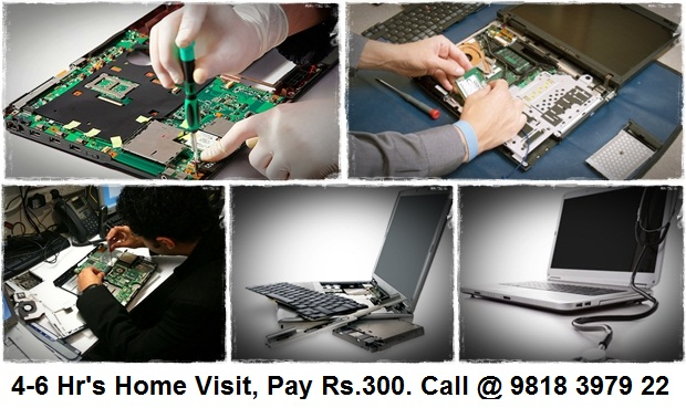 Onsite Laptop Repair in North Delhi