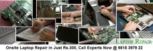 Onsite Laptop Repair in West Delhi