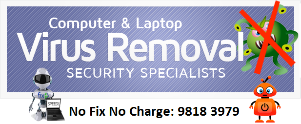 dell laptop virus removal servicing gurugram