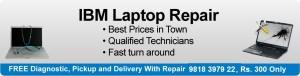 IBM Laptop Repair in Delhi