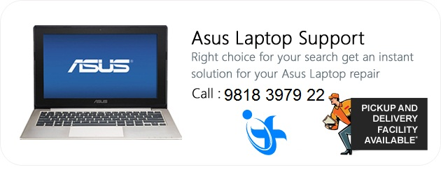 Asus Laptop Repair Service in Delhi