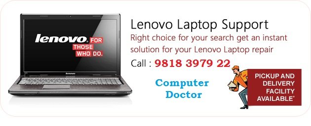 doorsteps lenovo laptop repair in gurugram - computer dr.