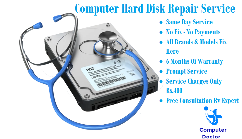 damage hard disk repair service in gurugram
