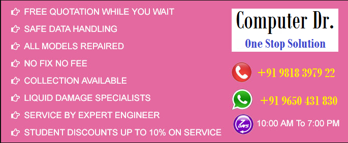 laptop service provider company in gurugram